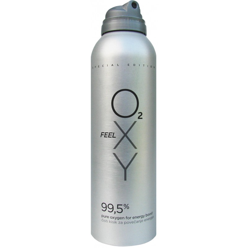 Pure Oxygen in a can