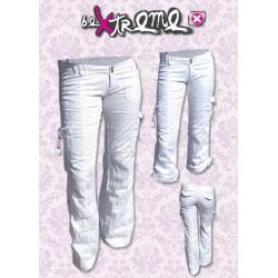 Ženske poletne stratch hlače