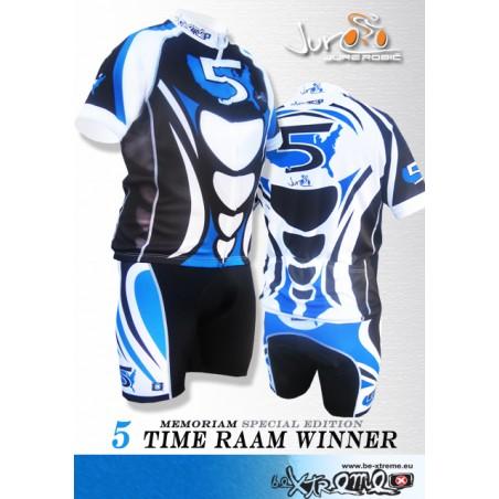 Vrhunski tekmovalni kolesarski dres in hlače Jure 5 RAAM