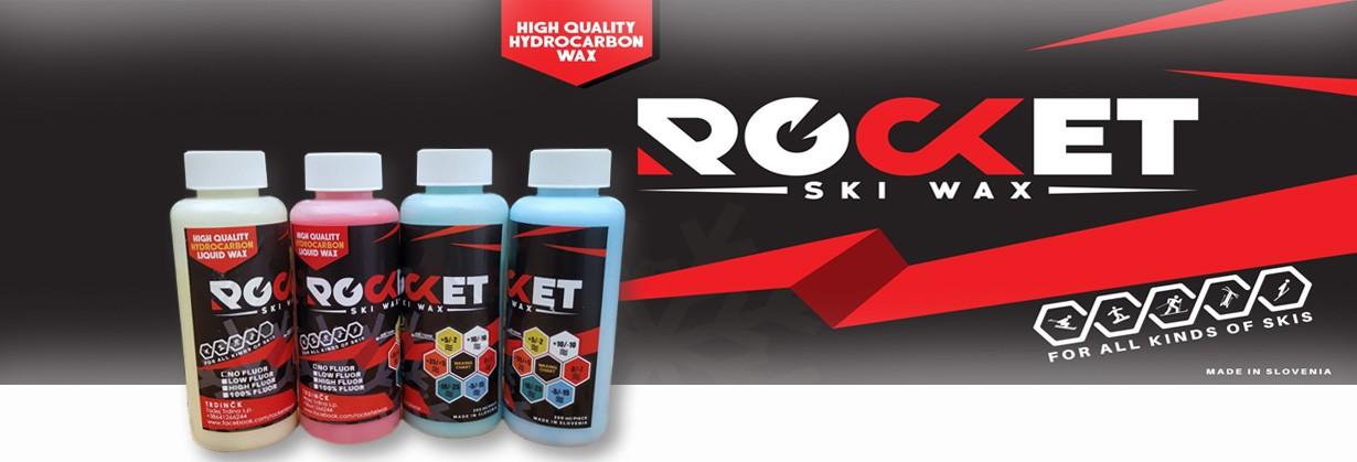 Rocket ski wax