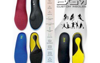 BX3m custom  sport vložki za stopala